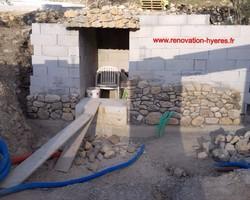 OLIVIER SCHULLER - Hyères -  pierre à maçonné