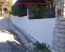 OLIVIER SCHULLER - Hyères - enduit de façade