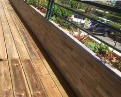 parement et terrasse bois