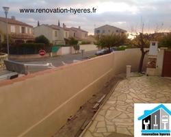 OLIVIER SCHULLER - Hyères - mur de clôture