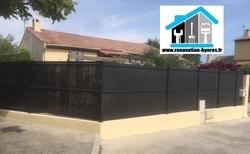 rénovation clôture