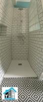 création douche et carrelage