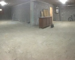 début de chantier